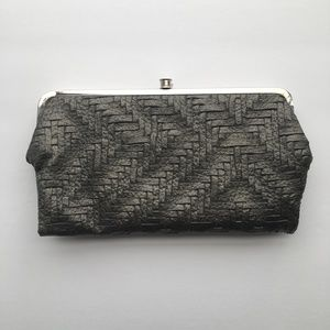 Charcoal Grey Clutch Bag